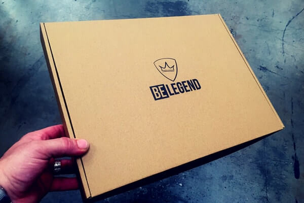 cajas para ropa deportiva