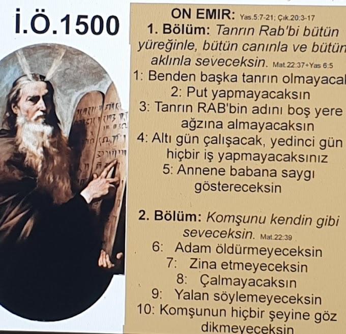 On Emir Tevrat Ve Kuran'da Nasıl geçer ?