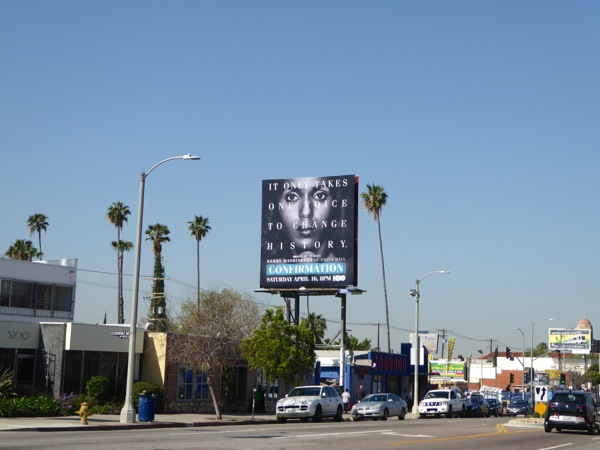Confirmation film billboard