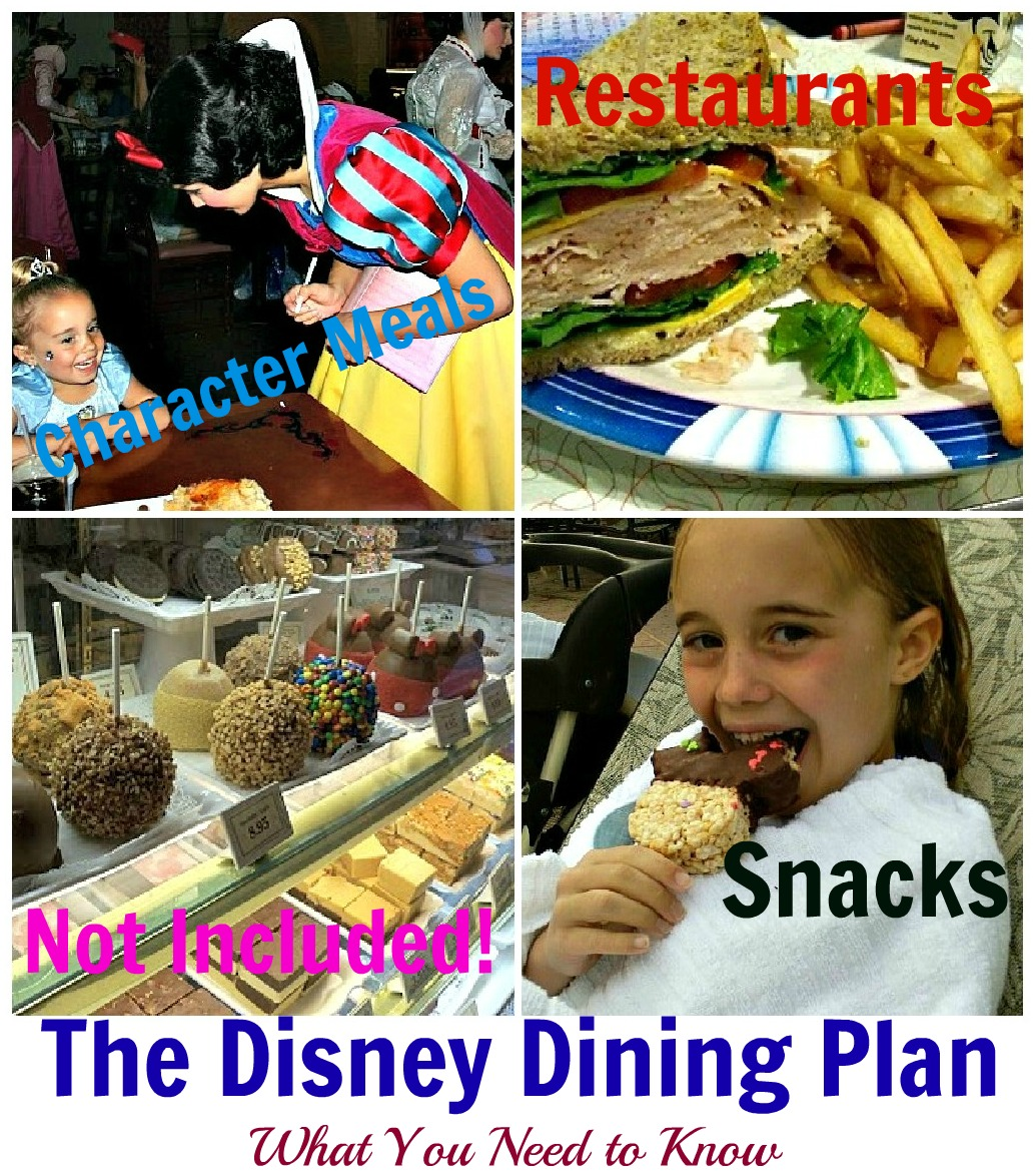 It 39 S All Good In Mommyhood Disney Dining Plan To Do Or