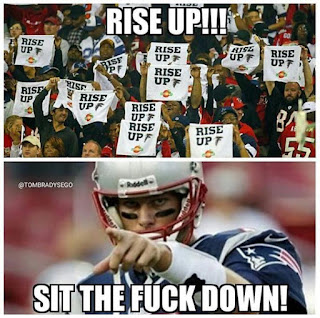 Rise up #falcons. #Brady: Sit the fuck down!