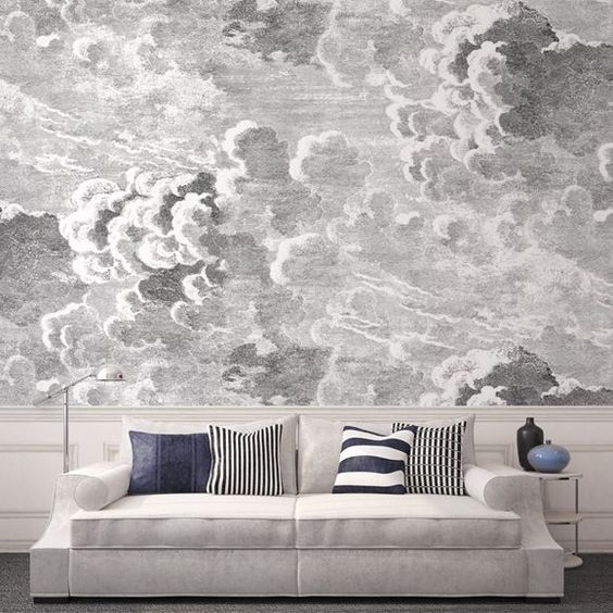 27 reasons you should be using wallpaper postcards from for Cloud wallpaper mural