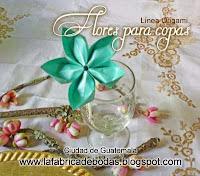 decoracion de copas para recepcion boda guatemala flores mariposas
