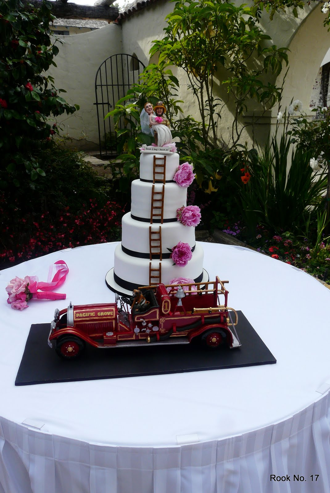 Fire Truck Cake Topper Australia