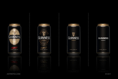 Green Pear Diaries, diseño, packaging, minimalismo, Guinness