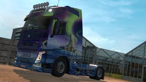 Northern Lights skin for Volvo 2013&2012