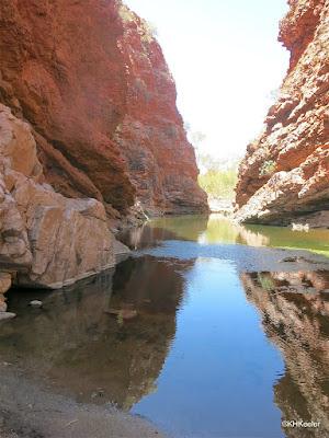 pool near Alice Springs, Australia