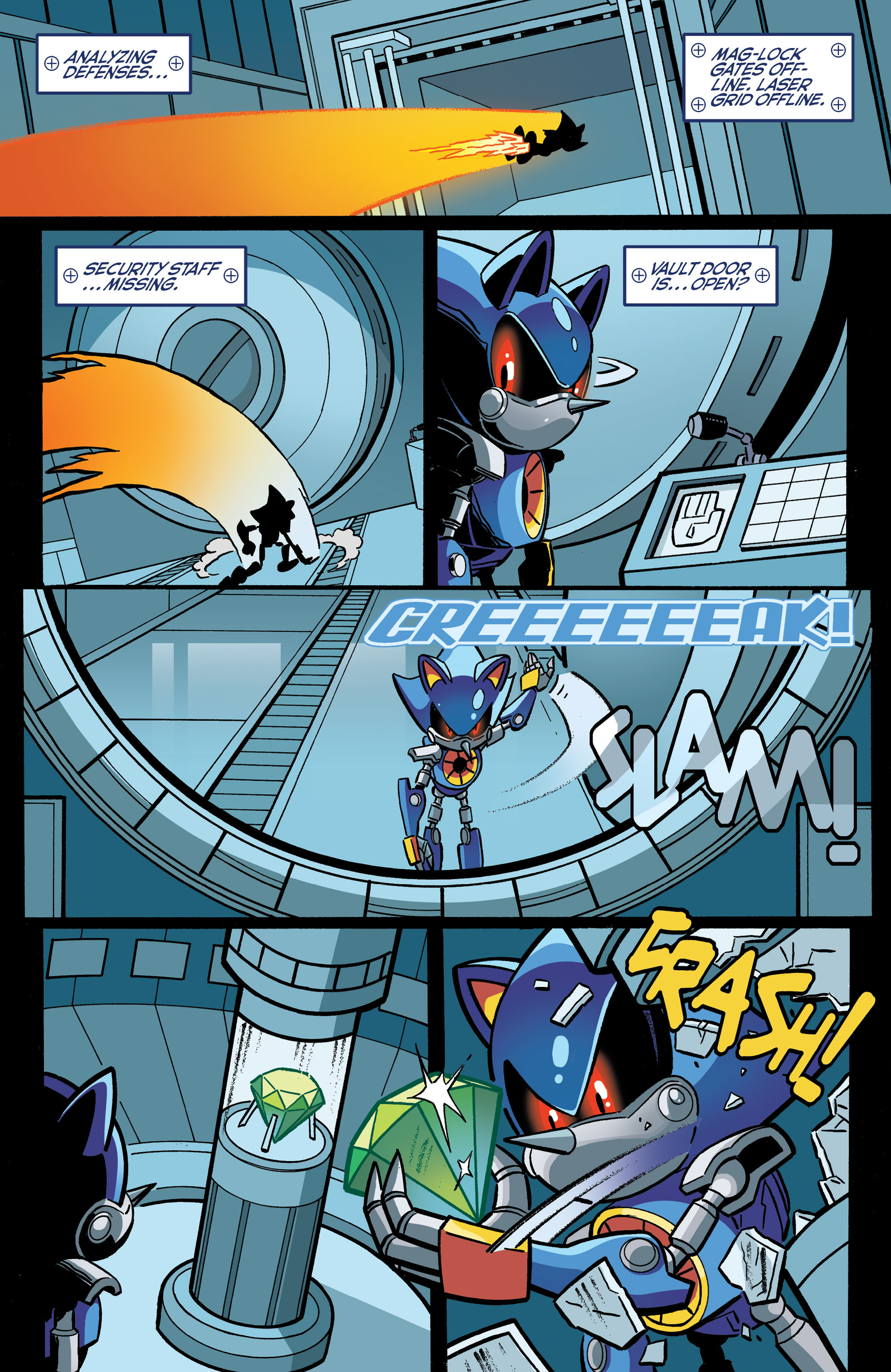 Read online Sonic The Hedgehog comic -  Issue #271 - 12