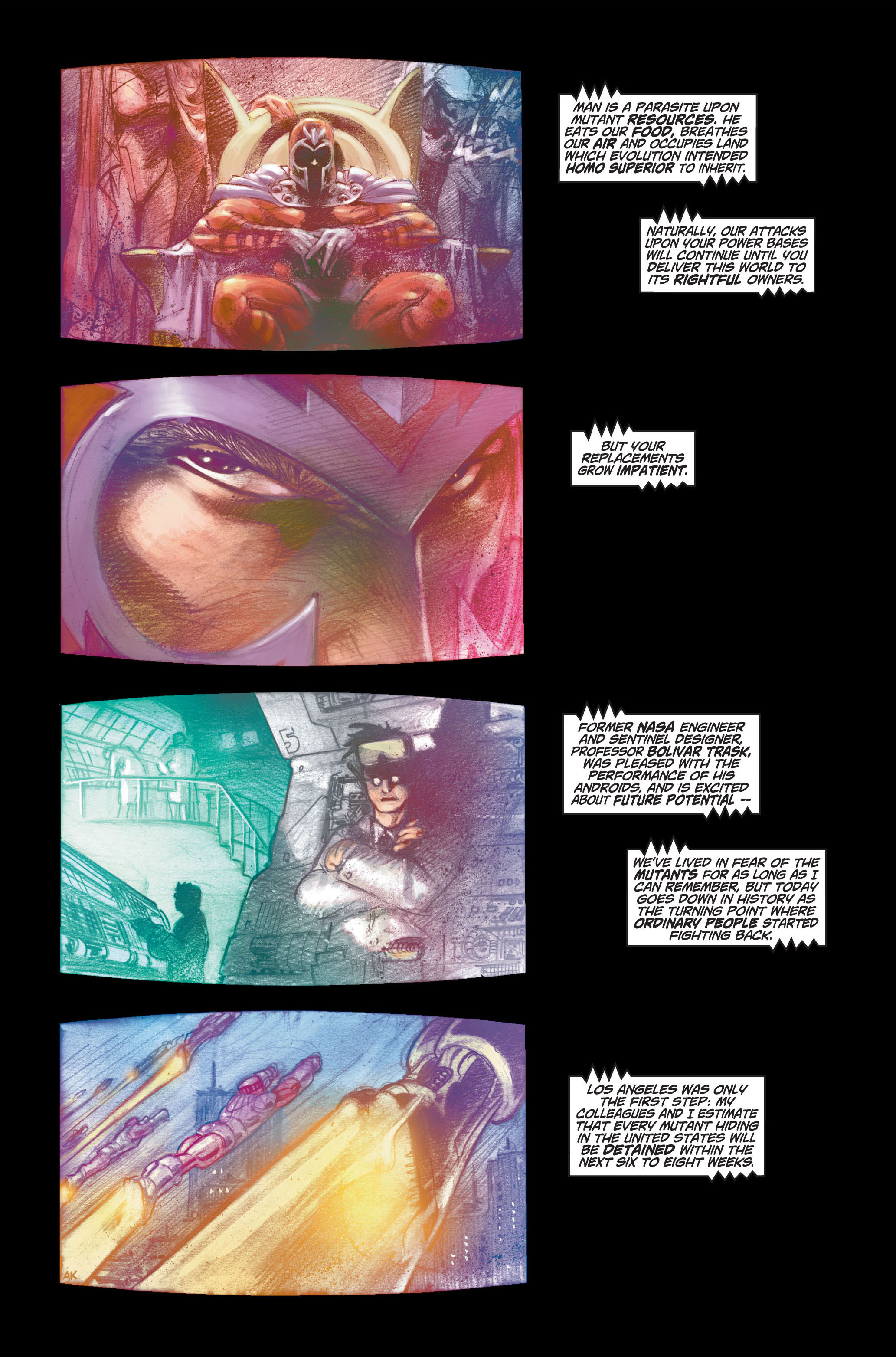 Read online Ultimate X-Men comic -  Issue #1 - 7