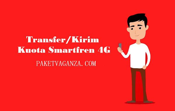 Cara Transfer Kuota Internet Smartfren 4G Terbaru 2019