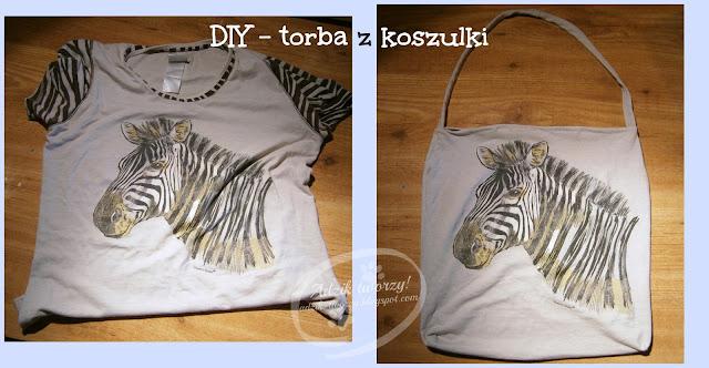 Torba z koszulki - DIY