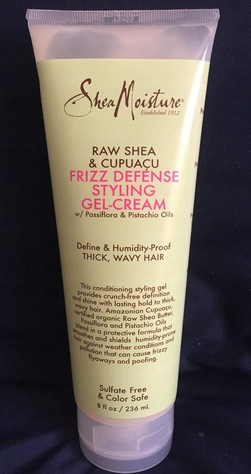 Styling Cream For Fine Hair Shea Moisture Raw Shea & Cupuacu Frizz Defense Line Initial Review .