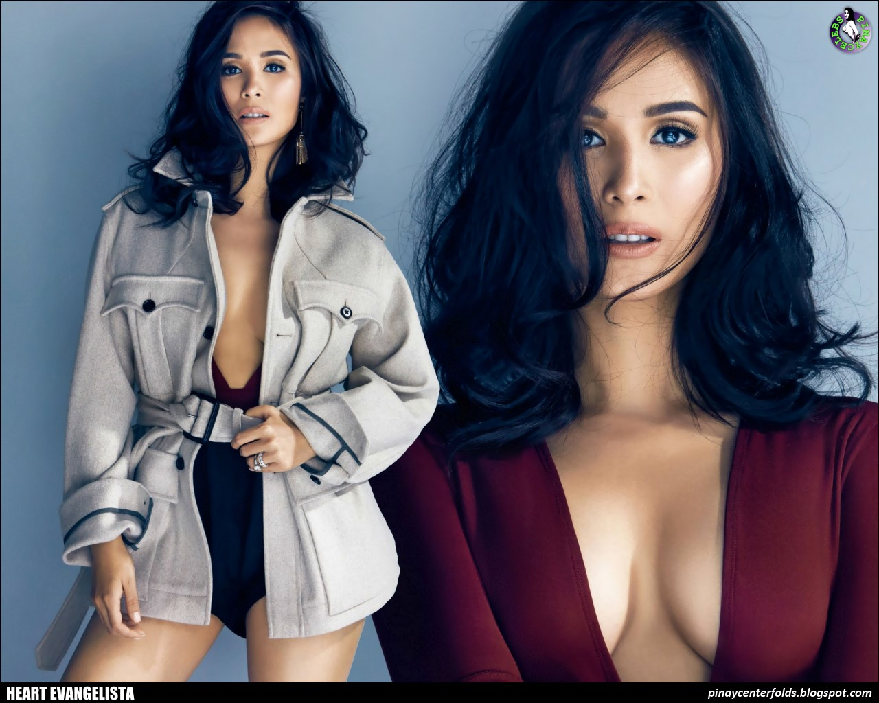 Heart creates stir with topless photo