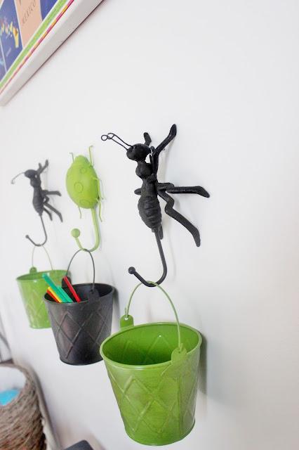 Cute Bug Wall Hooks