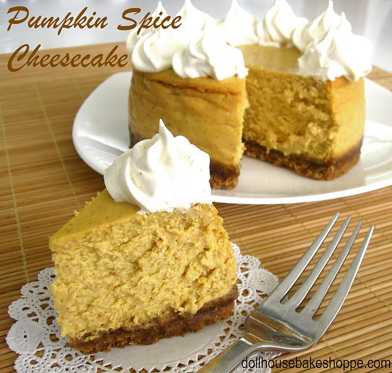 Lindsay Ann Bakes Pumpkin Cheesecake With Maple Spiced