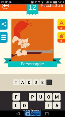 Iconica Italia Pop Logo Quiz soluzione pacchetto 5 livelli 12-75