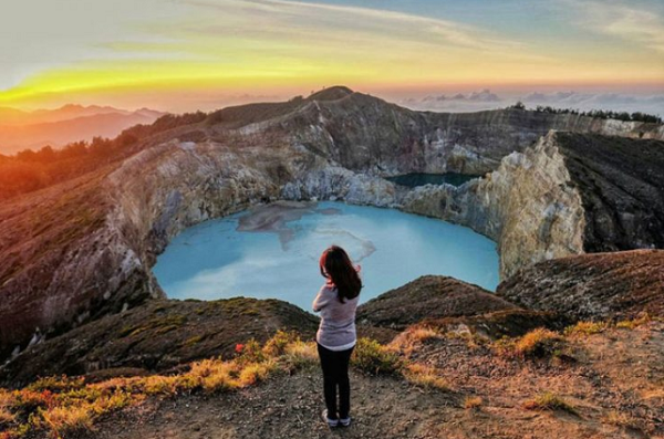 Danau Kawah Kelimutu, Photo Via Iramrizkyn