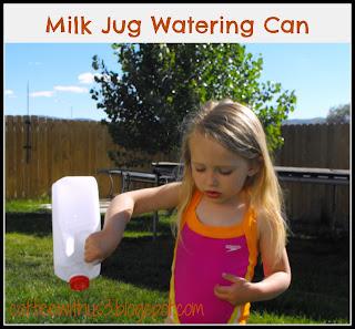milk jug watering cans