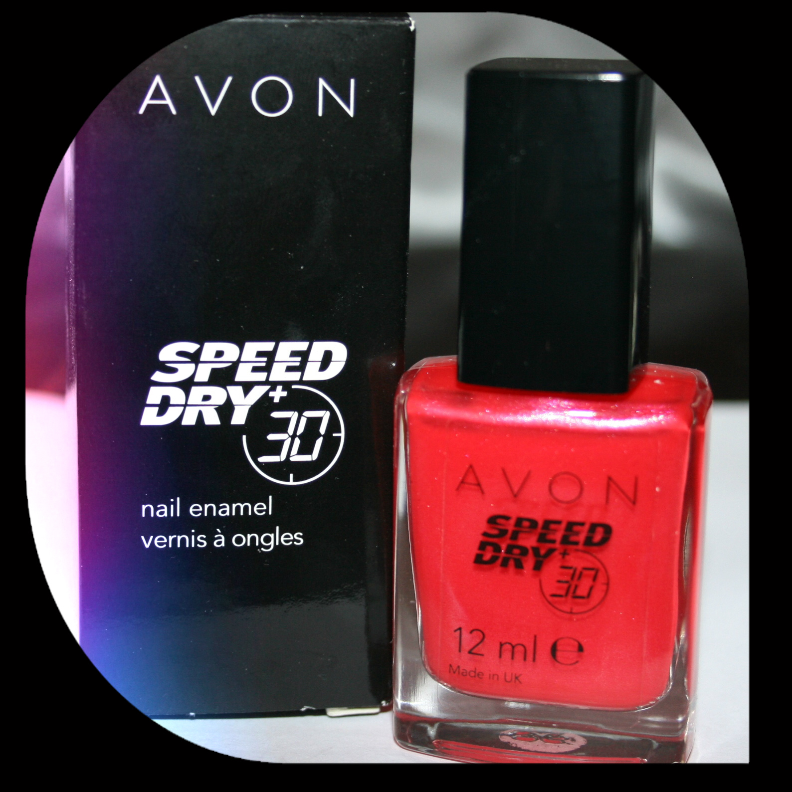 Speed dry nail polish