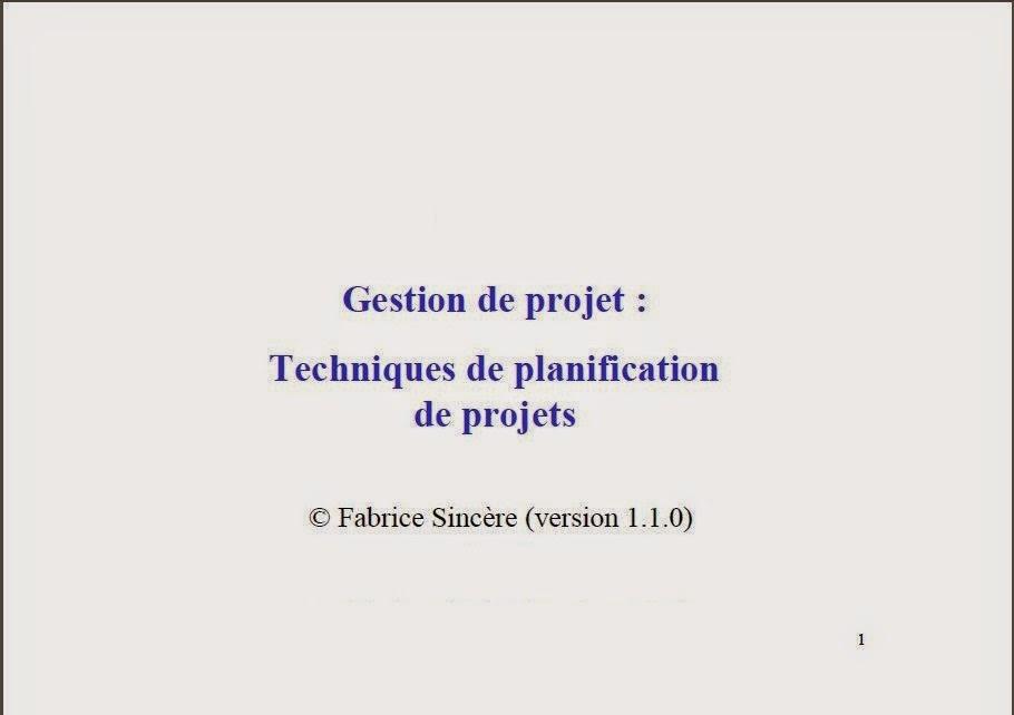 TECHNIQUES DE PLANIFICATION PDF DOWNLOAD