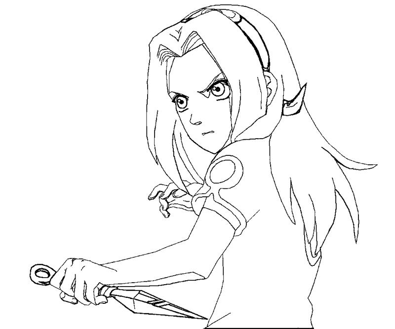haruno coloring pages - photo#5