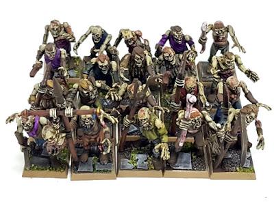 Games Workshop Zombies Regiment