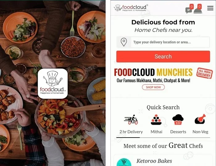Foodcloud - Signup and Refer to Earn