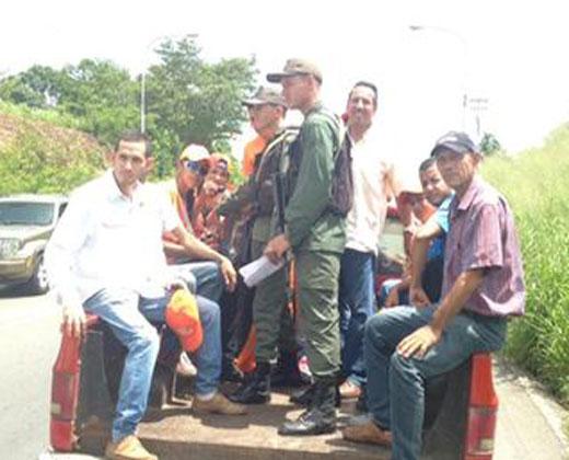 """Retuvieron a dirigentes de la MUD que venían a """"la Toma de Caracas"""" desde Monagas"""