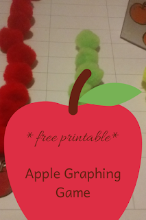 *free printable* Apple Graphing Game