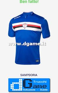 Soluzioni Indovina maglia calcio Italia livello 1