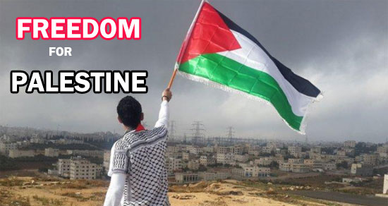 Kemerdekaan Untuk Palestina adalah harga mati. Gambar dari Internet