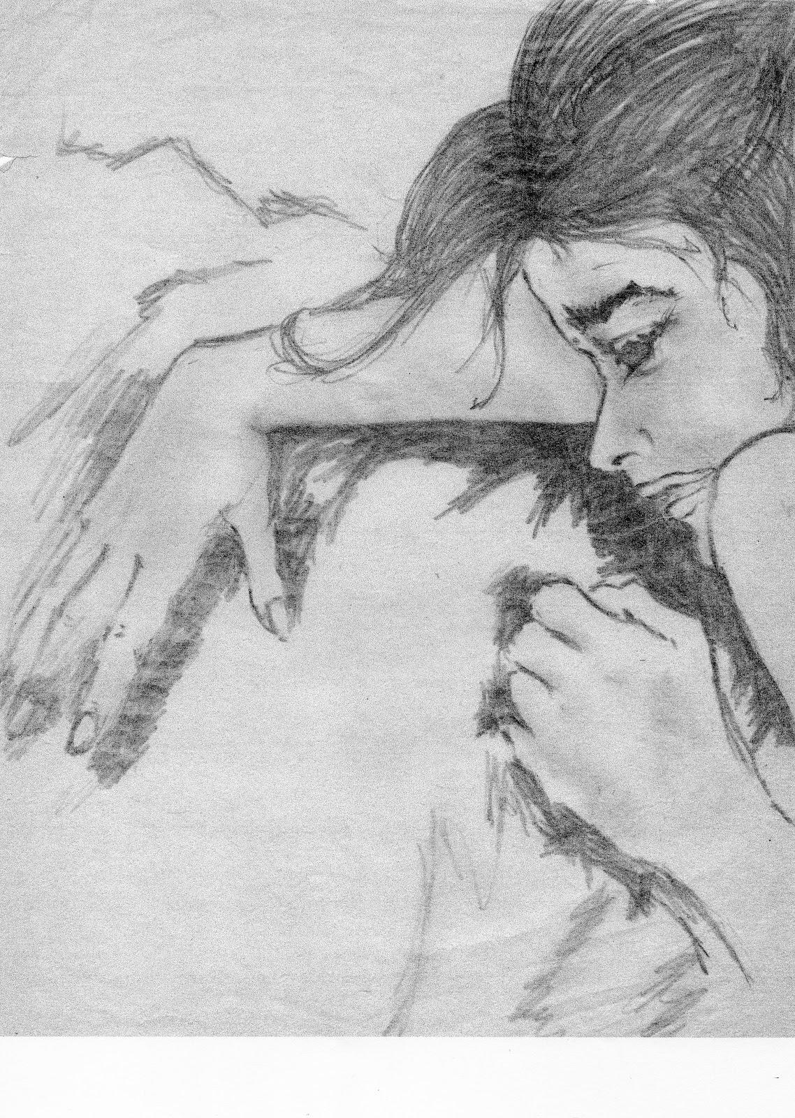 Dibujos De Enamorados Abrazados A Lapiz Faciles