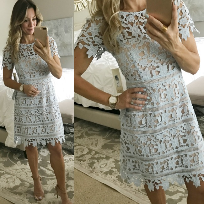 f08ea19f435 I love this dress for a bridal or baby shower or another afternoon event. I  don t know if the color is coming ...