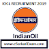 IOCL Engineers, Officers Recruitment 2019 through GATE 2019
