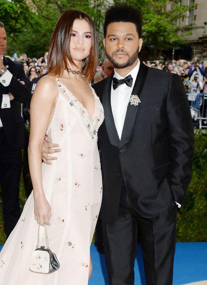Selena Gomez and The Weeknd Kiss