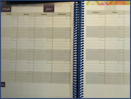 Ultimate Homeschool Planner monthly planning feature