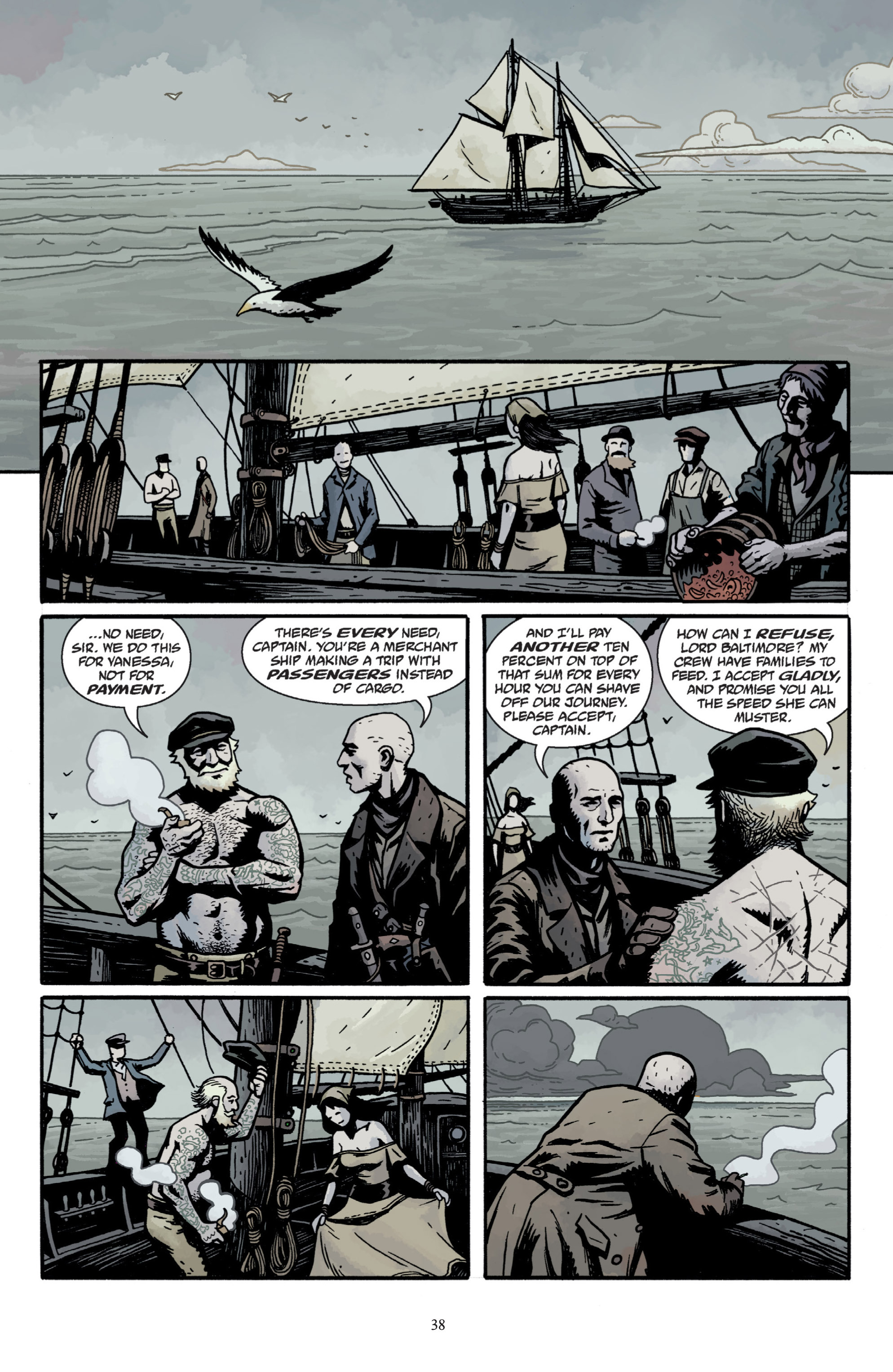 Read online Baltimore: The Plague Ships comic -  Issue # TPB - 40
