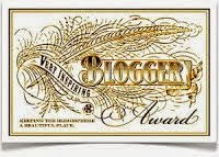 Very Inspirational Blogger Award