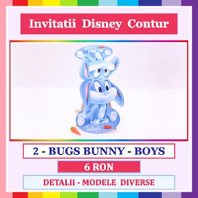 http://www.bebestudio11.com/2017/12/2-bugs-bunny-boys-invitatii-gemeni.html