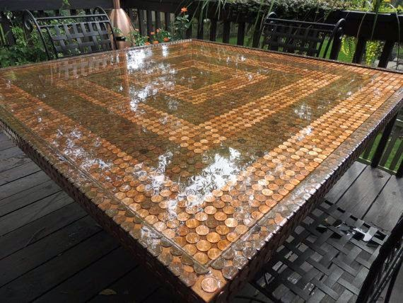 The Art Of Up Cycling Diy Outdoor Table Enjoy Outdoor