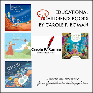 Educational and FUN Children's Books by Carole P. Roman (a review)