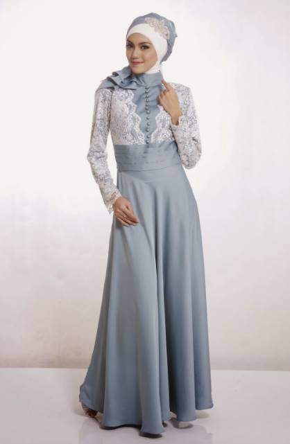 model kebaya dress wisuda