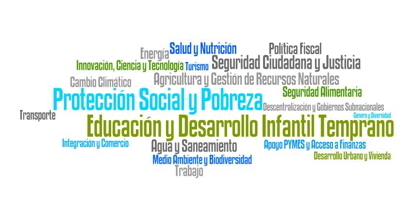 ¿Cuáles son las necesidades de desarrollo más urgentes de acuerdo a los latinoamericanos y caribeños? www.iadb.org