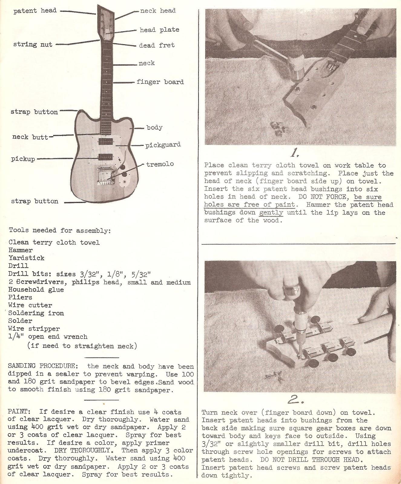 the unique guitar blog murph guitars
