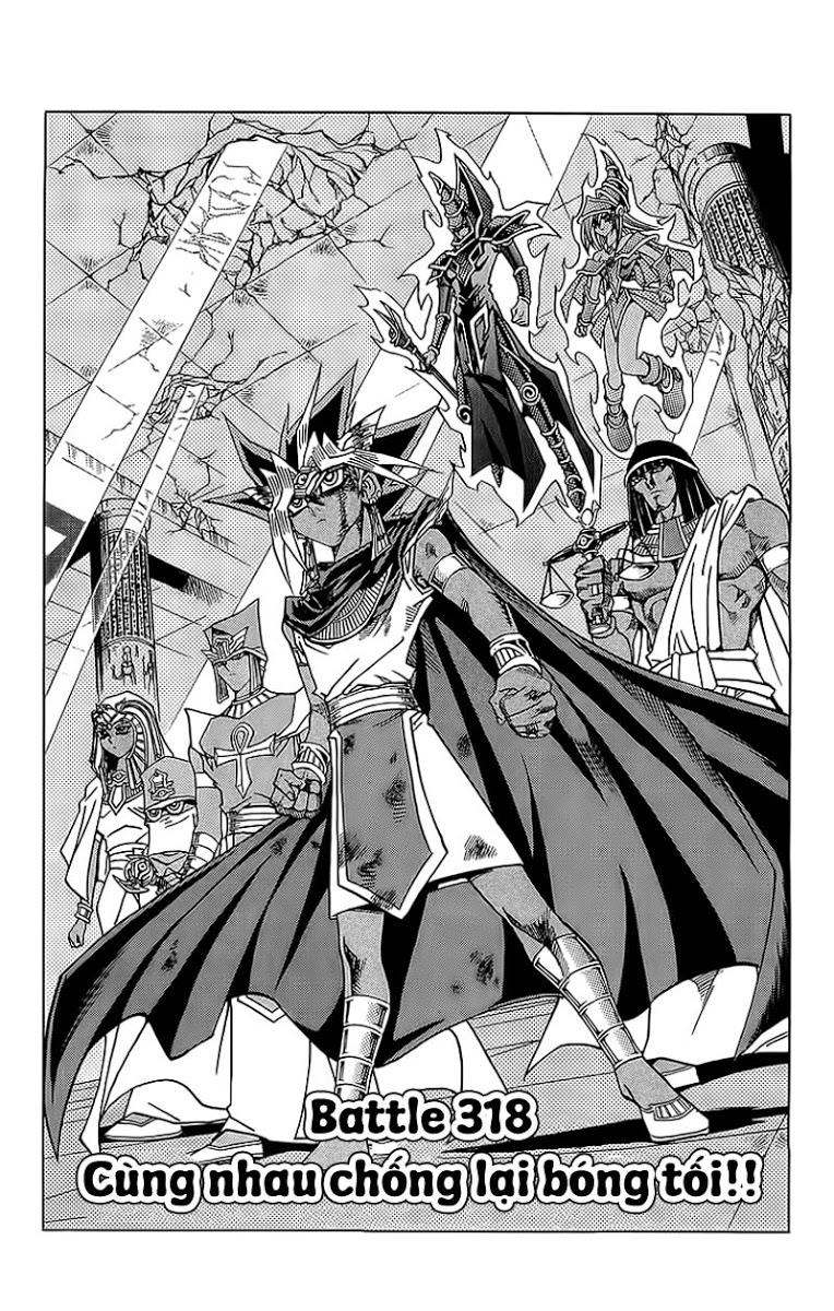 YUGI-OH! chap 318 - cùng nhau chống lại bóng tối trang 3