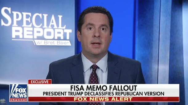 Rep. Nunes: 'Clear Evidence' of Russia Collusion... by the Clinton Campaign and DNC