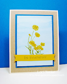 In Sympathy card-designed by Lori Tecler/Inking Aloud-stamps from The Cat's Pajamas