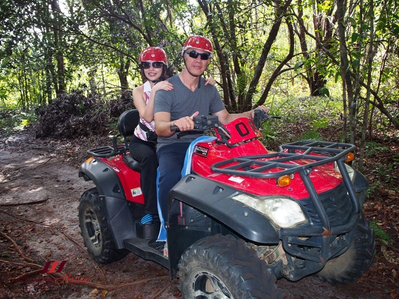 bintan lagoon resort atv double quad bike review