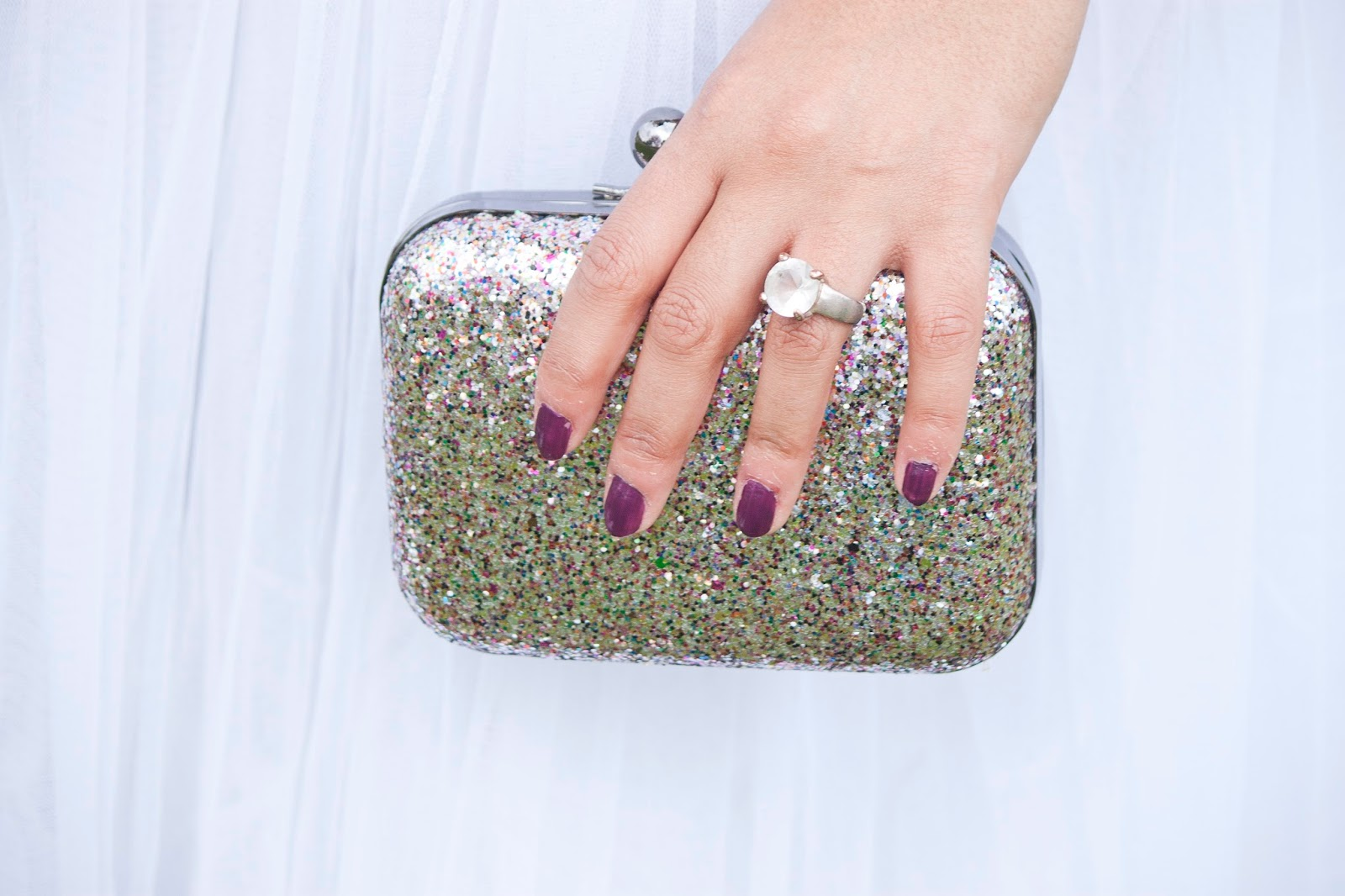 clutch paillettes