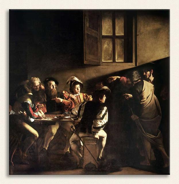 Michelangelo Caravaggio Aziz Matthew'in Çağrılışı